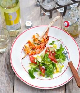 Gall BBQ Advocado salade